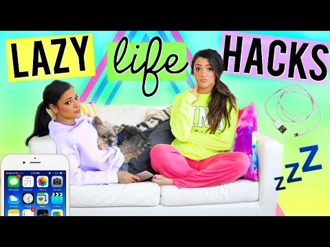 Diy life hacks every lazy girl needs to know life hacks for lazy people niki and gabi pan baidu com