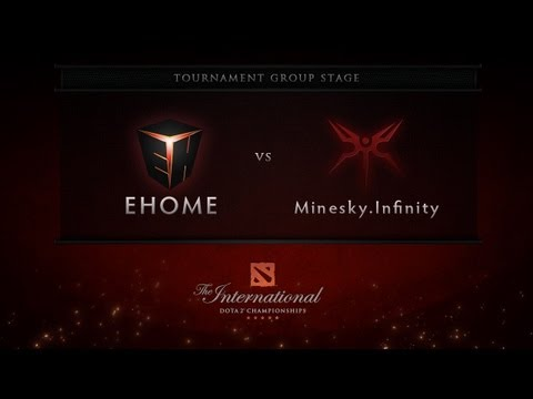 EHOME vs Mineski.Infinity - Group Stage - Dota 2 International