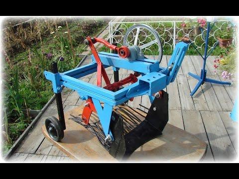 Плуг-лопата на колесах своими руками + самодельная картофелекопалка