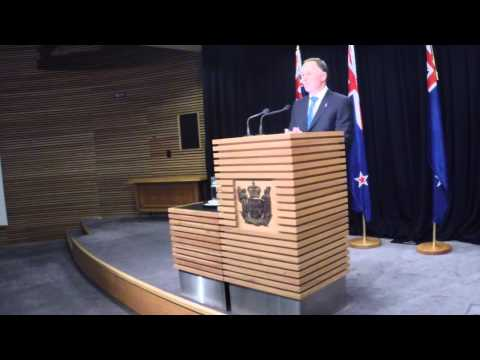 Prime Minister John Key's Post Cabinet Press Conference 12 May 2014