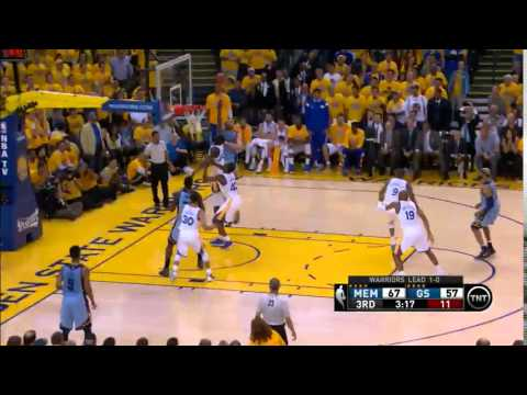 NBA, playoff 2015, Warriors vs. Grizzlies, Round 2, Game 2, Move 35, Marc Gasol, airBall