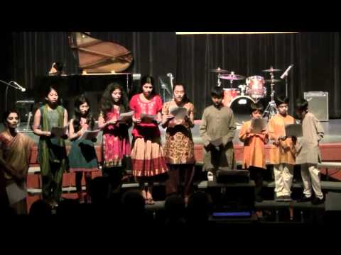 Hum Ko Man Ki Shakti Dena performed by students of the Purna...