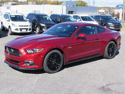 2015 Ford Mustang GT & Ecoboost Fastback Start Up, Exhaust, and In Depth Review