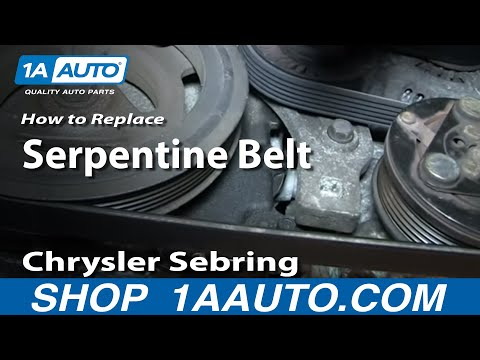 pt cruiser timing belt replacement instructions