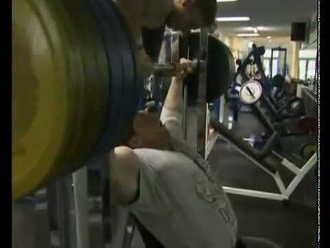 Markus Ruhl Shoulder Press, 6 reps of 500Lb, Smith Machine Image 1