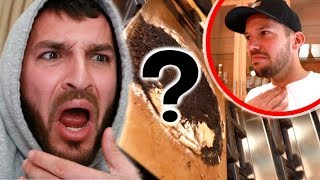 WE FOUND THIS LIVING IN OUR HOUSE!!