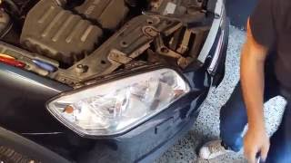 Faro de Chevrolet Captiva . How to remove heatlight Captiva. Cambio de lampara Captiva