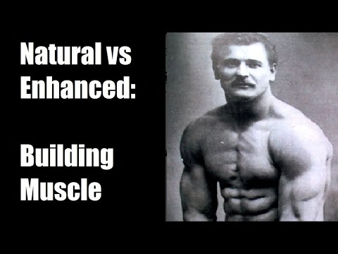 Natty vs Enhanced (Steroids): Building Muscle - YouTube