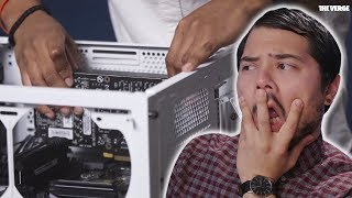 LYLE REACTS TO THE VERGE's PC BUILD VIDEO
