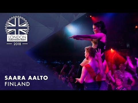 Saara Aalto - Monsters - FINLAND | LIVE | OFFICIAL | 2018 London Eurovision Party