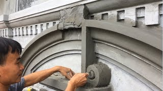 Amazing Construction and Cement Working  - Techniques Building Dome Beautiful By Sand and Cement