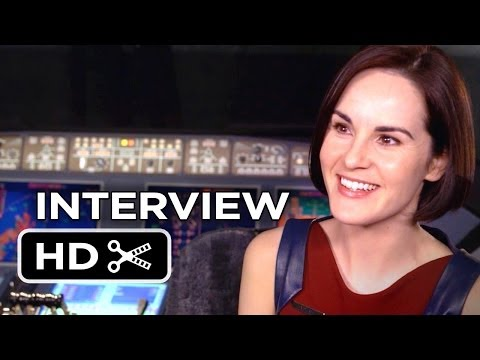 Non-Stop Interview - Michelle Dockery (2014) - Thriller HD