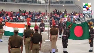Petrapole border parade between INDIA & BANGLADESH BSF & BDR