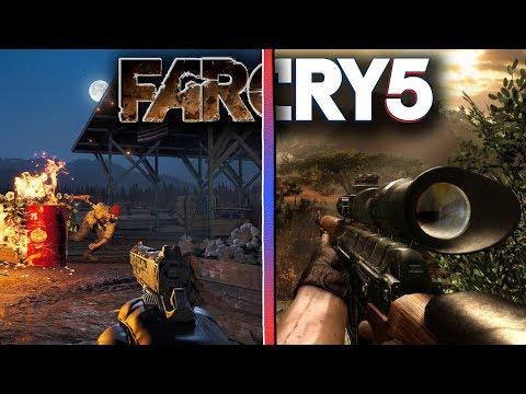 Чем FAR CRY 5 отличается от FAR CRY 4 / FAR CRY 3 / FAR CRY 2 ?