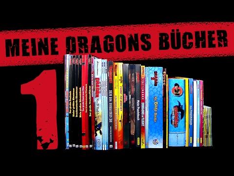 DreamWorks Dragons - Meine Bücher Sammlung - Teil 1 Vorstellung / Review