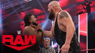 Big Show vs. Andrade & Angel Garza – 1-on-2 Handicap Match: Raw, June 29, 2020