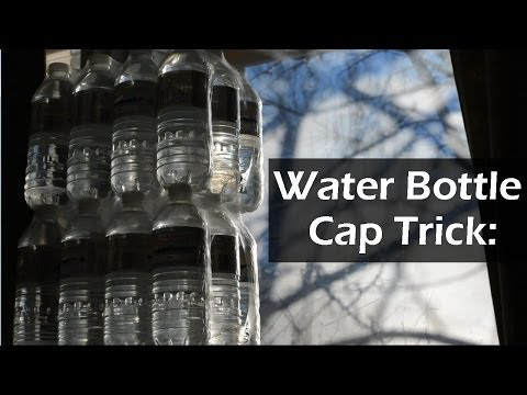 Water Bottle Cap Trick