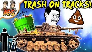 TRASH ON TRACKS! 😱