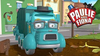 S1 - The Garbage Party | Paulie and Fiona | Kids Cartoons | Kids Videos | Heroes of the City