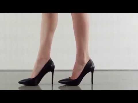 Premer in Black Soft Nappa Silk Jessica Simpson