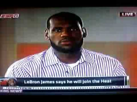 Lebron James reacts to Cleveland fans burning jersey after selling out to Miami Heat