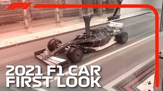 Future F1 Car First Look | Formula 1's 2021 Car In The Wind Tunnel