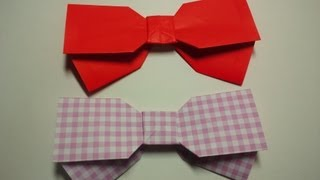 Great Origami-how To Make Paper Ribbon---