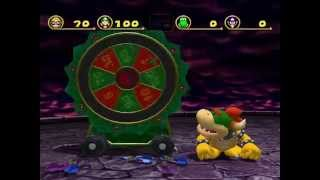 Mario Party 4 Bowser minigame: Darts Of Doom 60fps