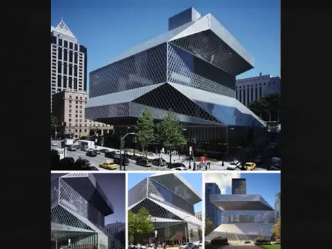 Edificios futuristas (Reales)