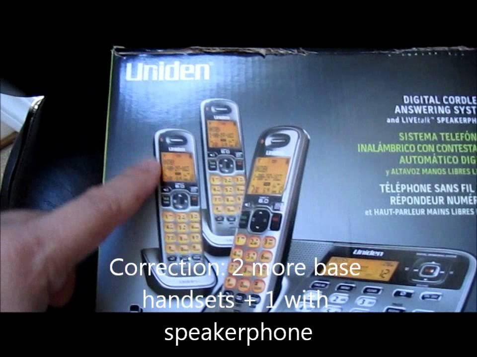 Uniden 5 8ghz Cordless Phone Uniden Digital Cordless Phone