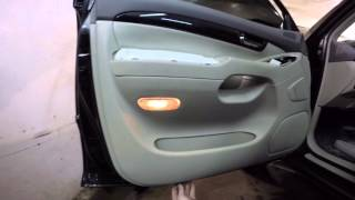 Toyota Land Cruiser 120 disassembly door (разборка двери)