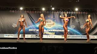 Posedown – Junior & Tall Women Sports Model - WFF World Championship 2017