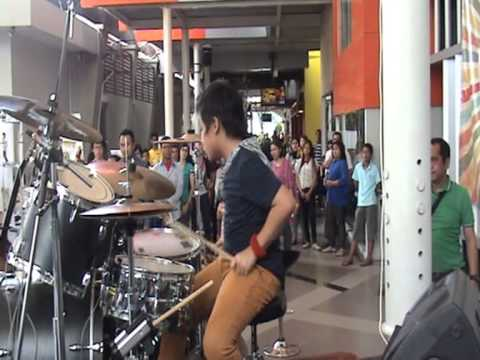 Psy Oppa Gangnam Style drum cover by Rayhan (10 years old) - 24 Maret 2013