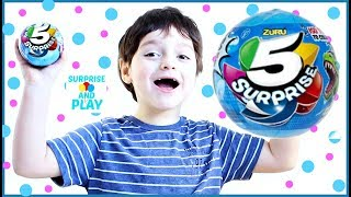 Zuru 5 Surprise Eggs for Kids Five Surprises in One Egg Surprise