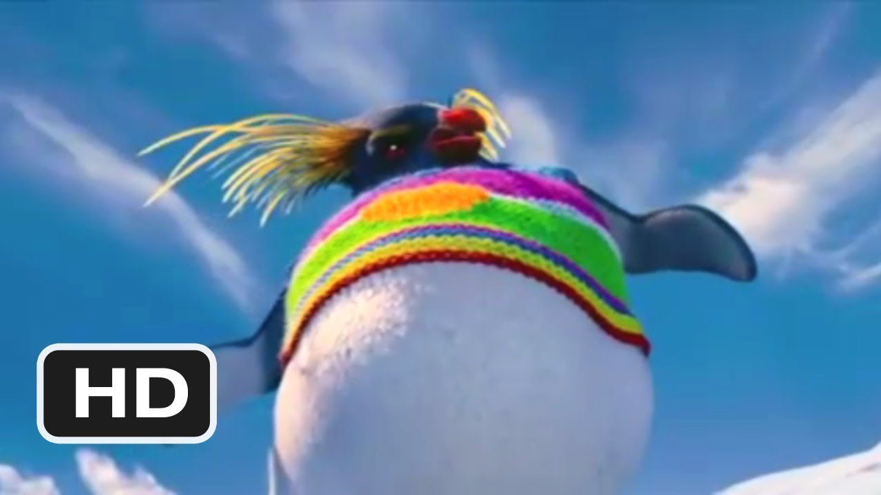 Happy Feet 2 in 3d Official tv
