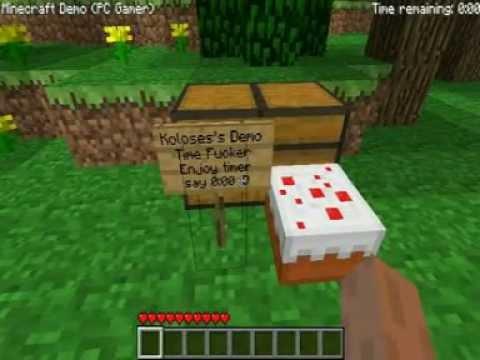 Gamers de Minecraft Minecraft pc Gamer Demo Time