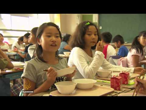 Japan nips childhood obesity in the bud