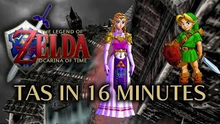 [OLD] The Legend of Zelda: Ocarina of Time Any% TAS in 15:54.91 (RTA Timing)  by The Tas Master