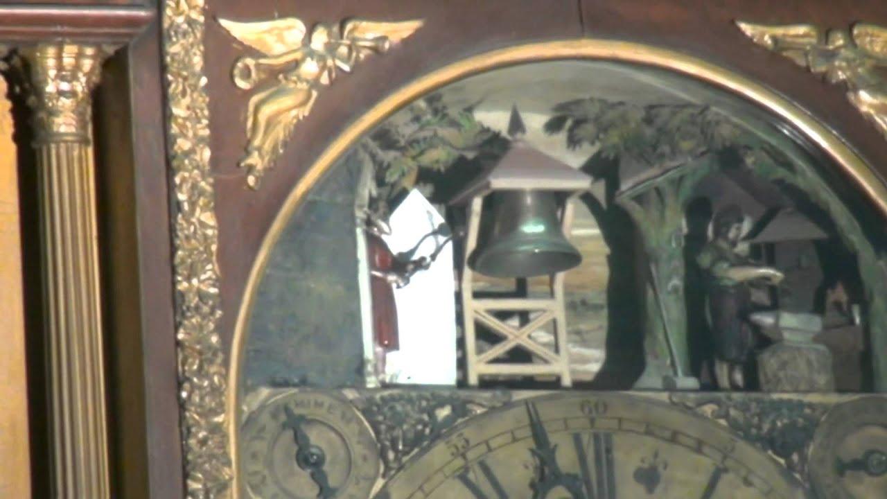 Musical Clock Salarjung Museum Youtube