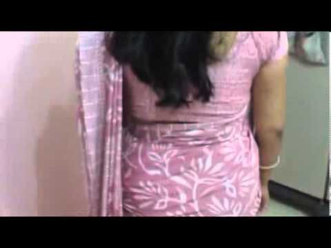 Souh Indian House Wife Aunty In Sexy Saree video