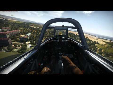 War Tunder : учу взлету и посадке в реалистичных боях