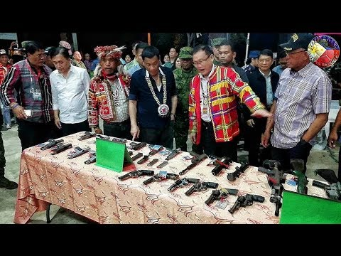 DUTERTE LATEST NEWS MARCH 24, 2018 | DUTERTE AT THE 16th ANNIVERSARY OF SUPREME TRIBAL COUNCIL !