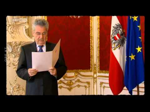 Willkommen Österreich 250. Folge - Ansprache von Heinz Fischer