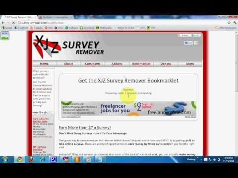 Remove Surveys (Chrome)