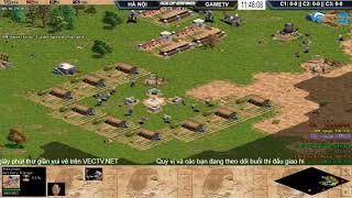 AoE 44 Random Hà Nội vs GameTV Ngày 6-12-2017