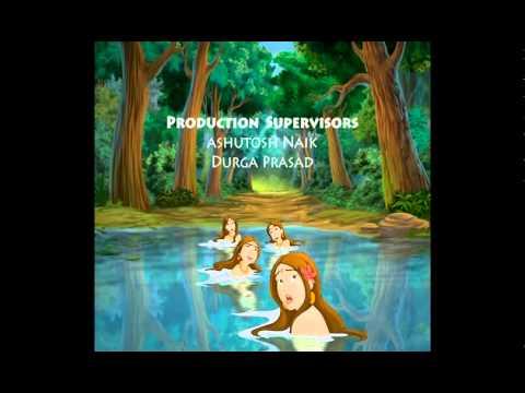 Krishana Makhan Chor Cartoon Network Title Song video