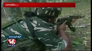 JandK Encounter : One Militant Killed And 16 CRPF Jawans Injured