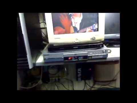 Teste do Panasonic Gravador De Video Dvd - Ram E Dvd - R DMR-E30