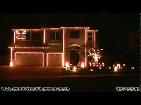 Halloween Light Show 2011 - Kidnap the Sandy Claws