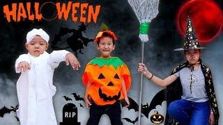 Trò Chơi Hóa Trang Mùa Halloween - Bé Nhím TV - Đồ Chơi Trẻ Em Thiếu Nhi